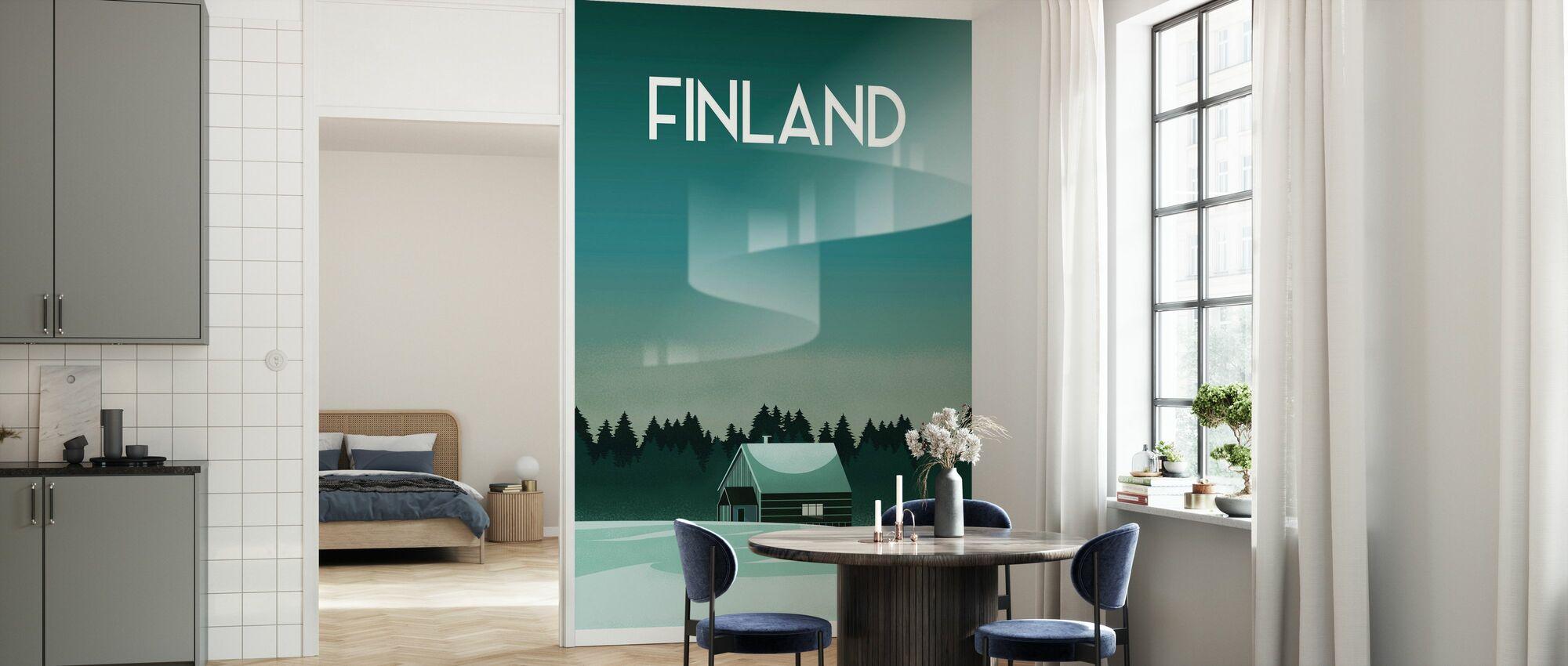 Finland - Wallpaper - Kitchen