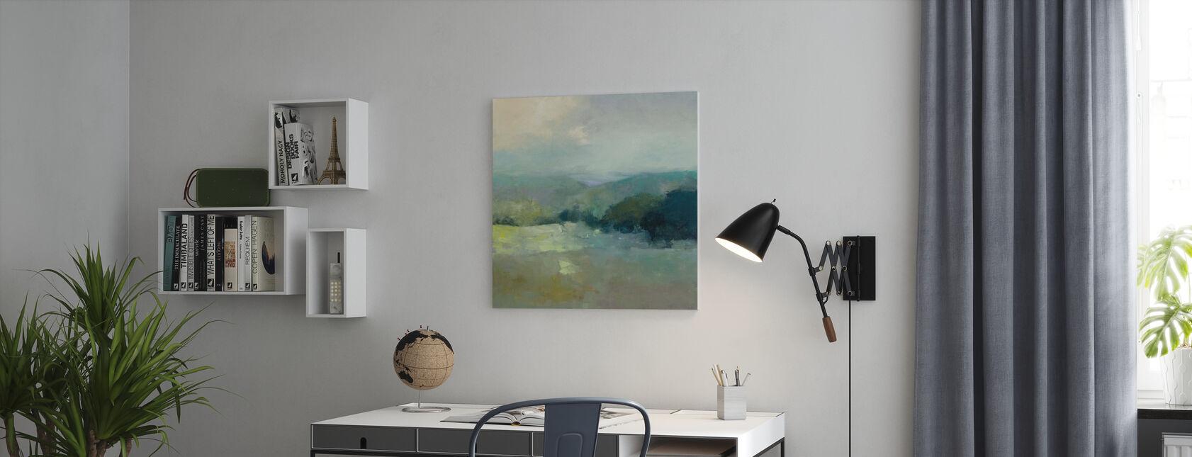 Misty Valley - Obraz na płótnie - Biuro