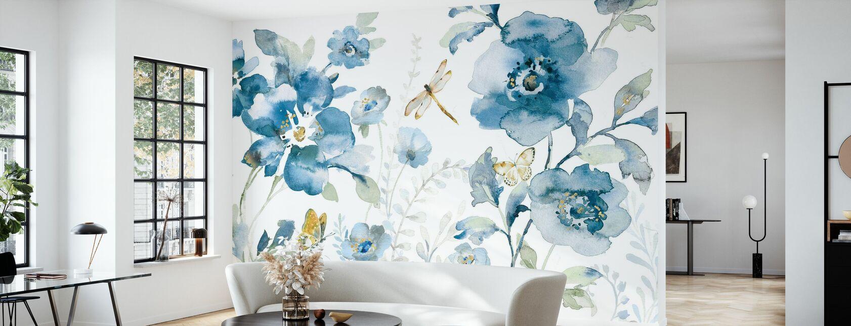 Blues of Summer - Wallpaper - Living Room