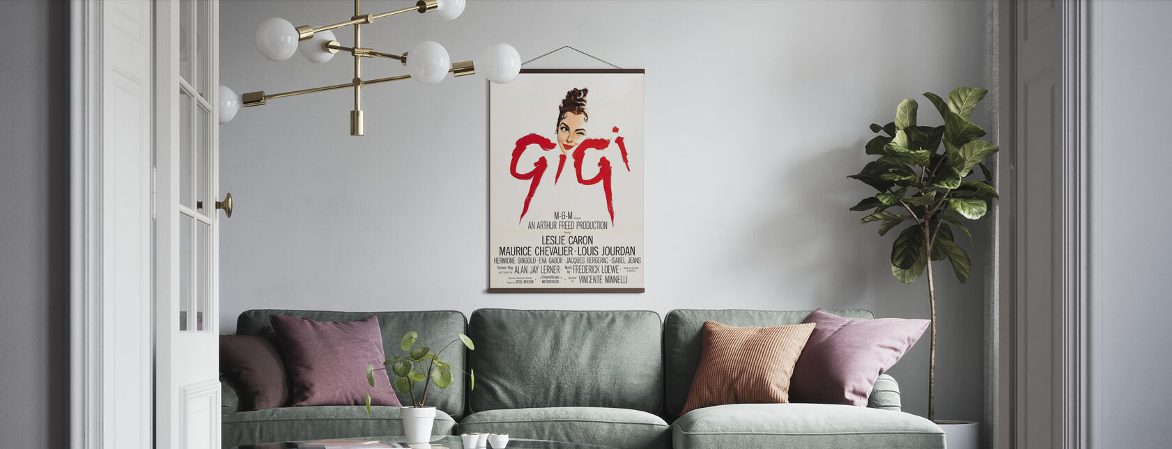Gigi - Poster - Woonkamer