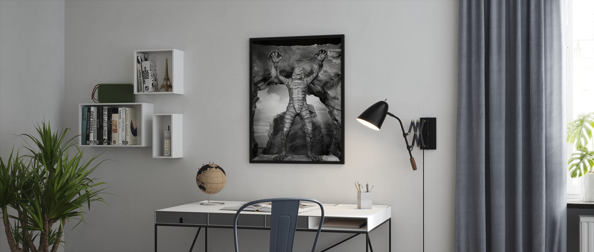 Creature from the Black Lagoon - Framed print - Office