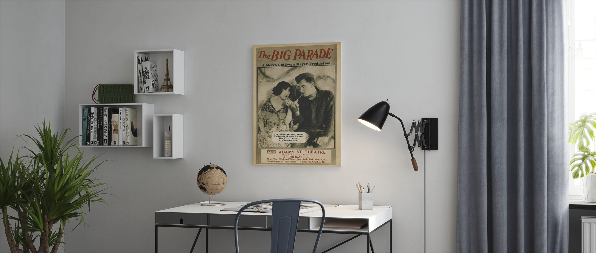 Big Parade - Canvas print - Office
