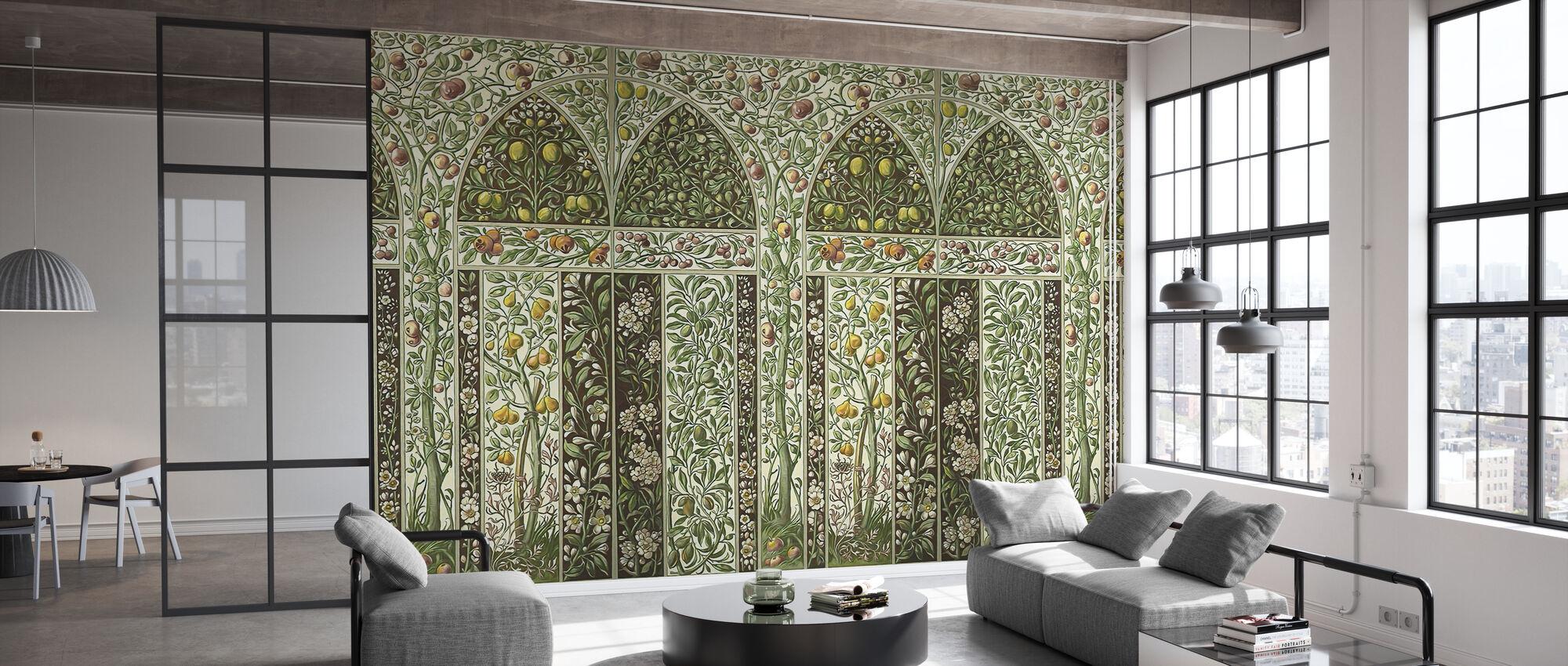 Fruits Garden - Wallpaper - Office