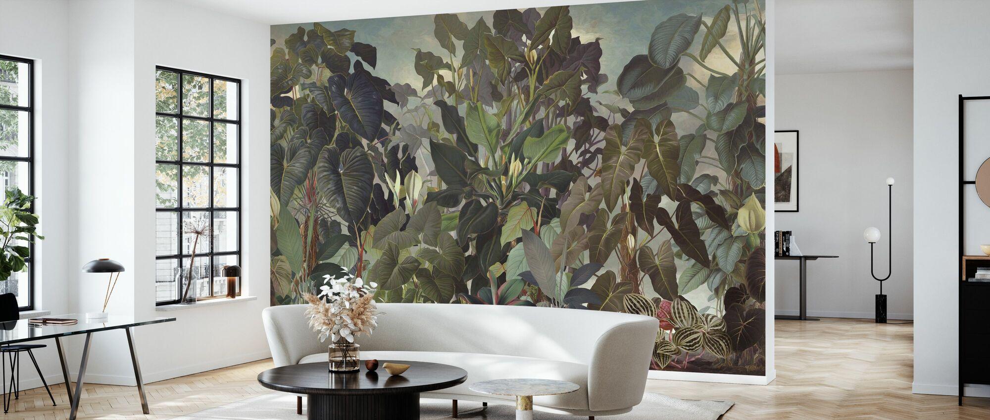 Into the Tropics - Wallpaper - Living Room