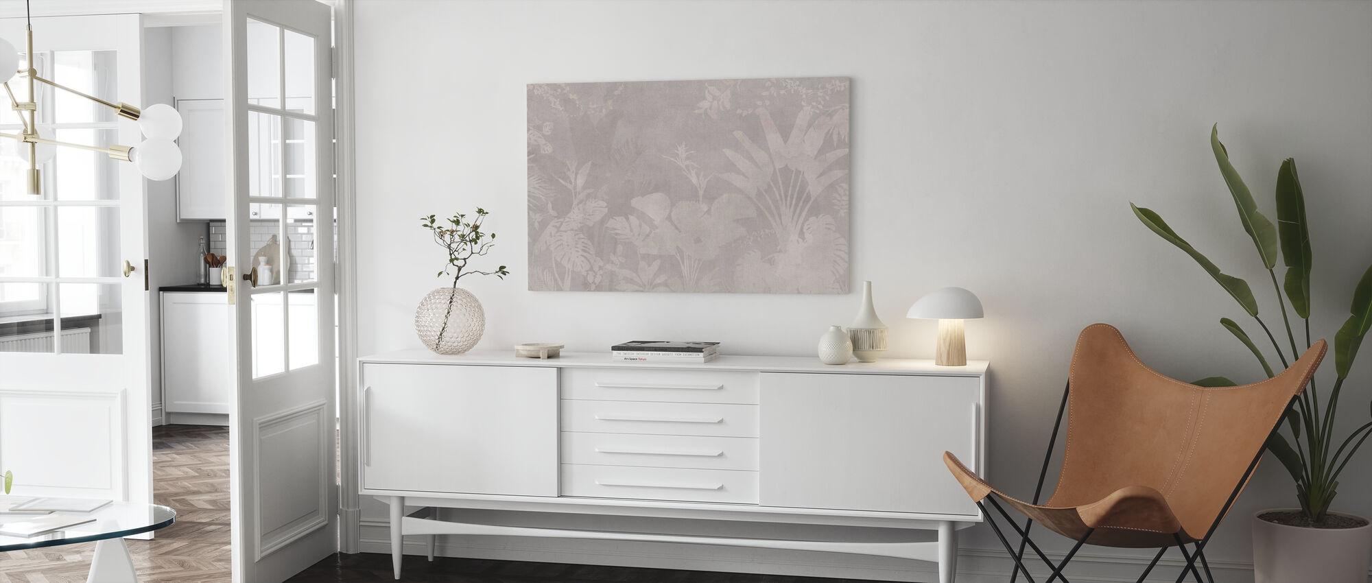 Pantanal Night - Beige Ash - Canvas print - Living Room