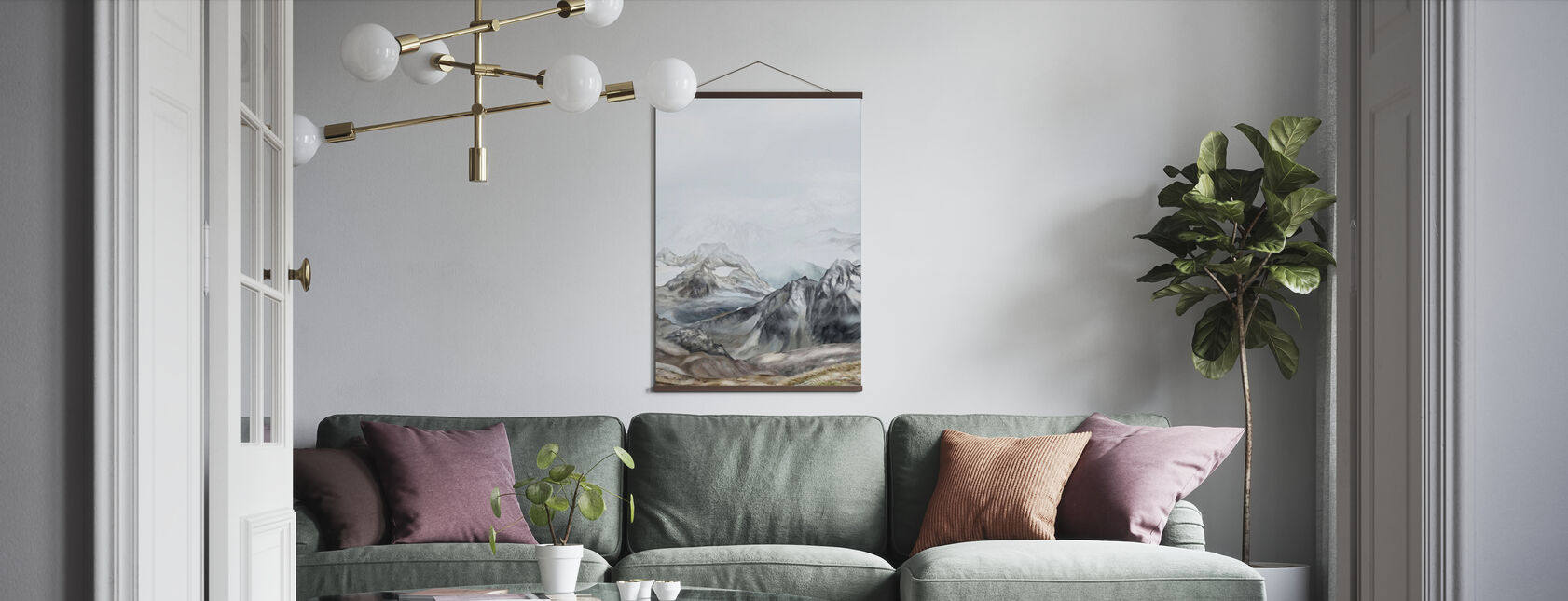 Mountains - Poster - Living Room