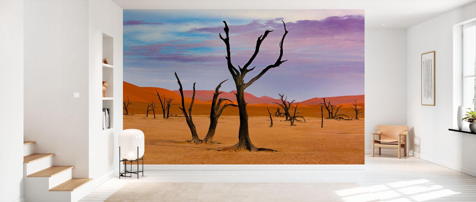 Dead Camel Thorn Trees - Wallpaper - Hallway