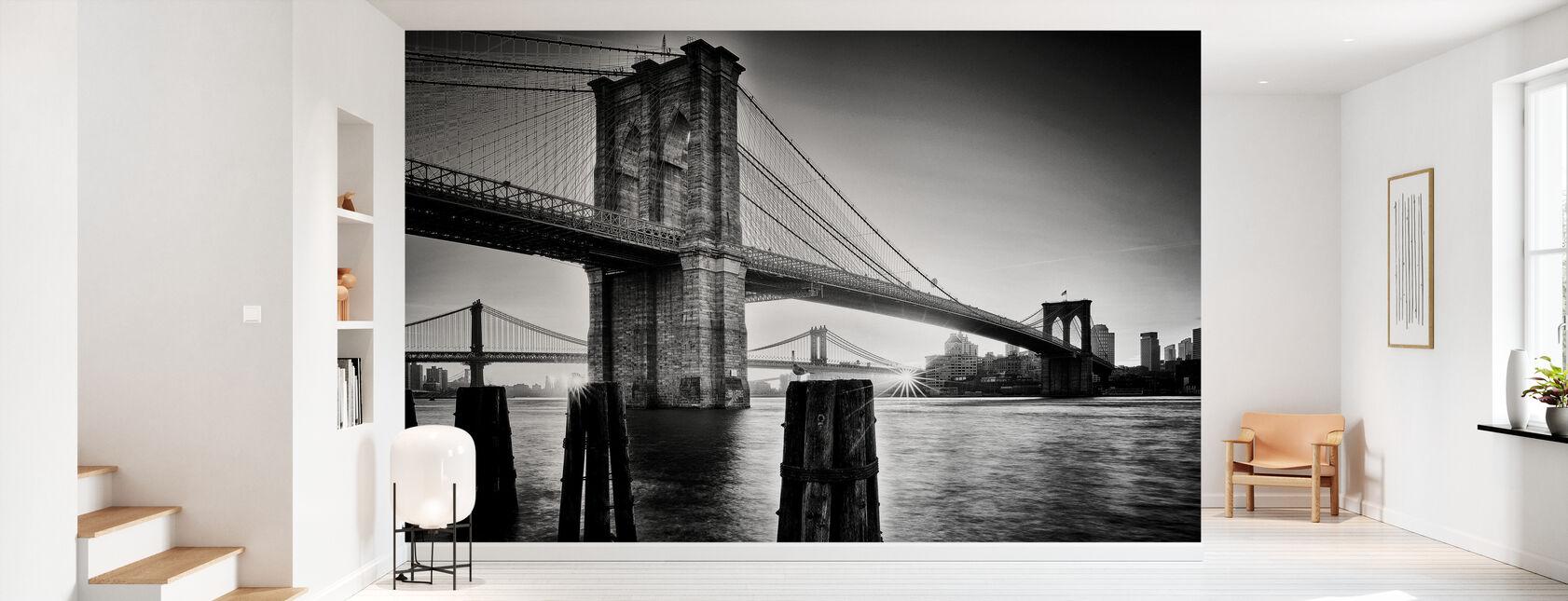 Brooklyn Bridge Sunrise - Wallpaper - Hallway