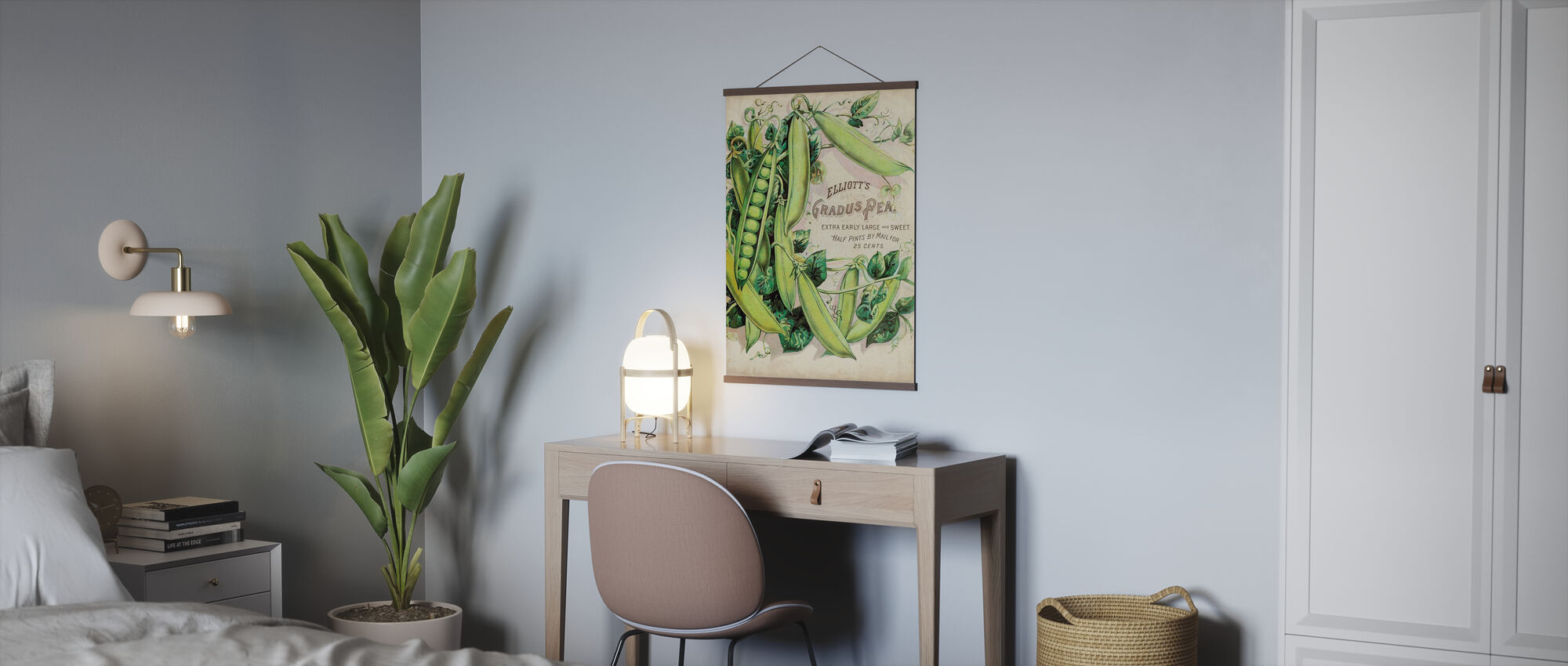 Antique Seed Packets V - Poster - Office