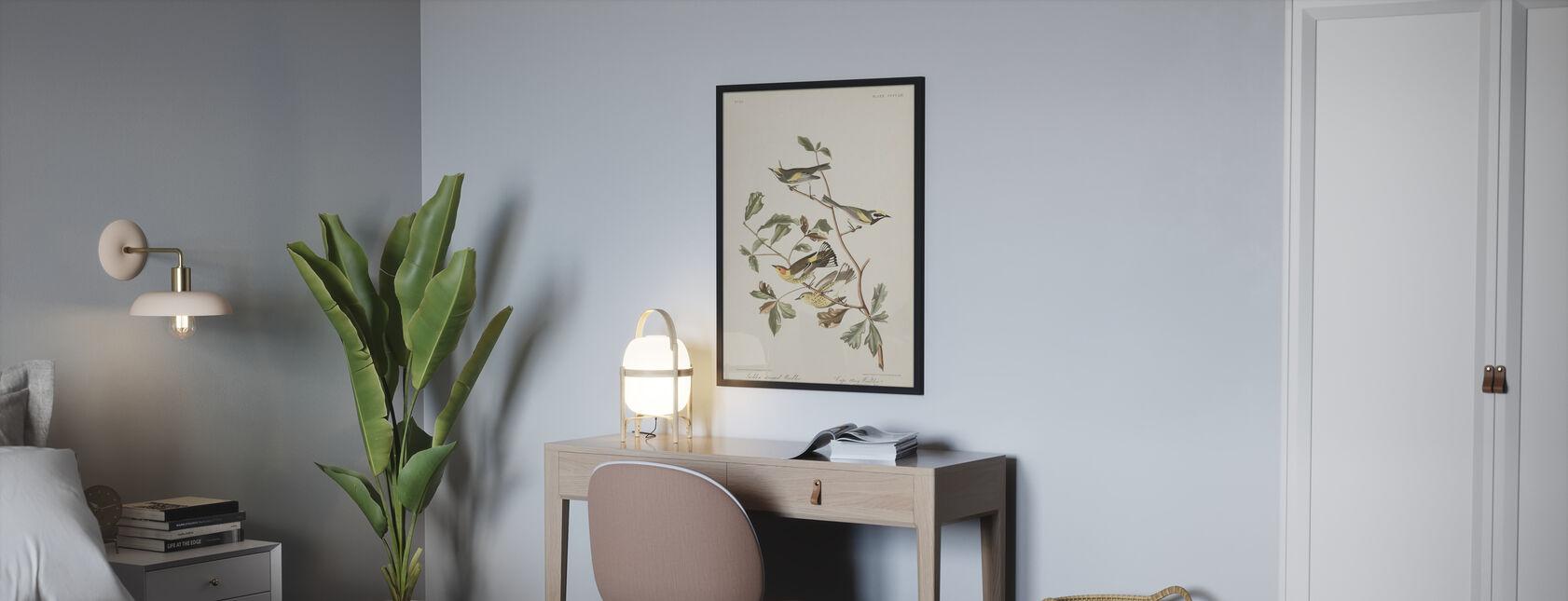 Golden Winged Warbler - Poster - Bedroom
