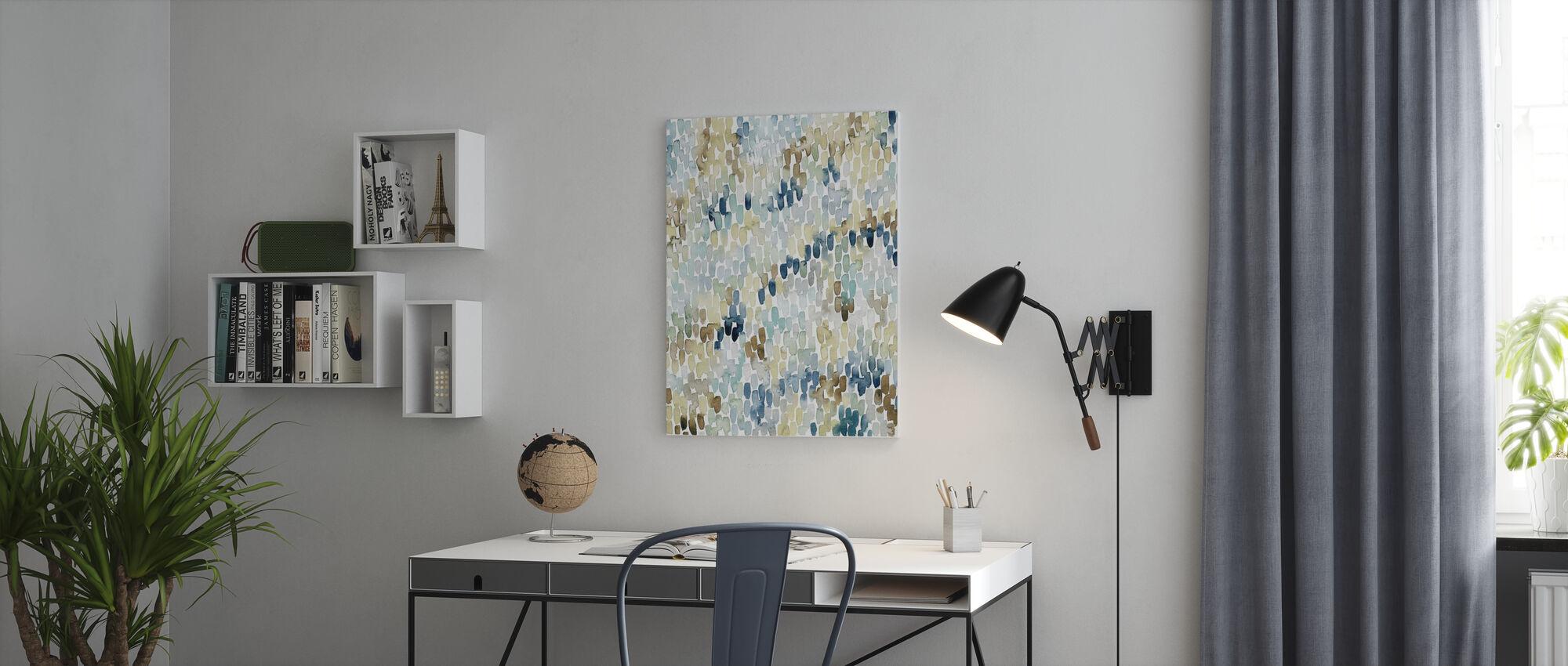 River Wavelets II - Canvas print - Office
