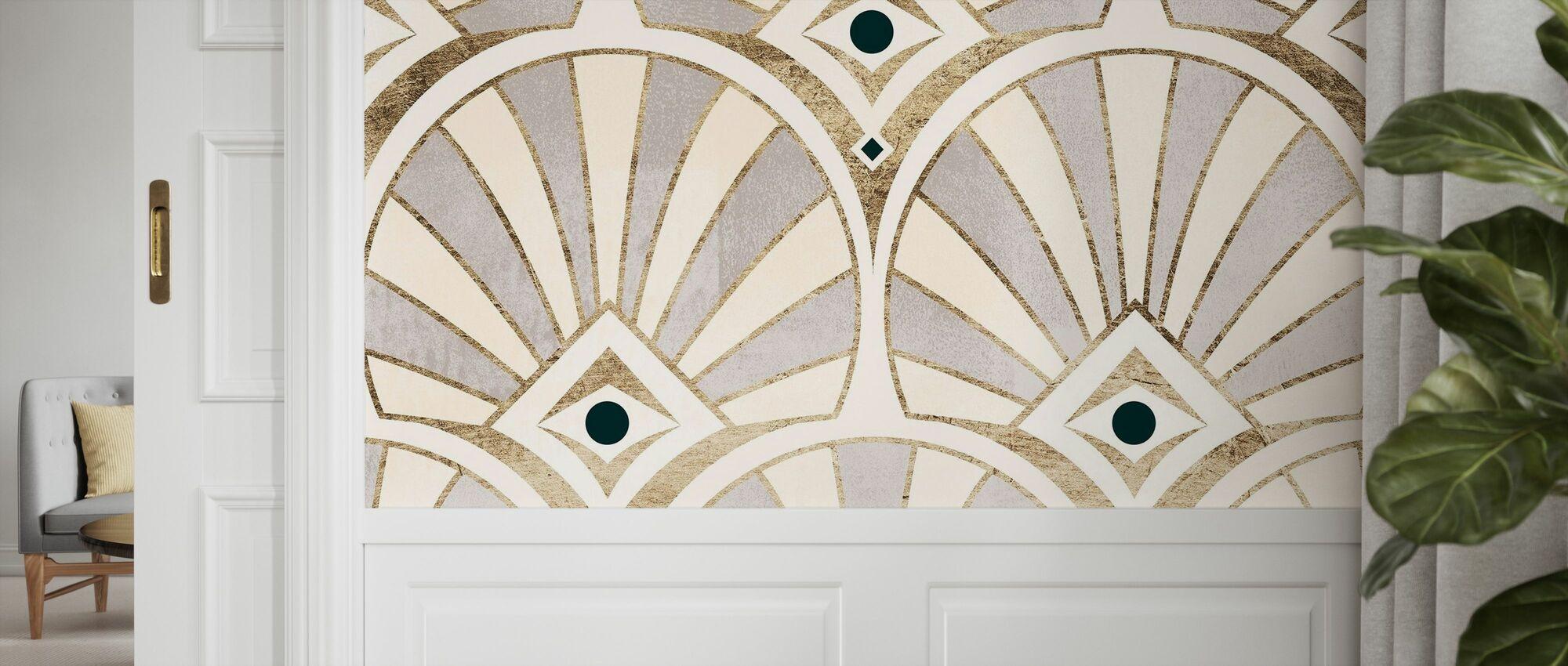 Deco Patterning I - Wallpaper - Hallway