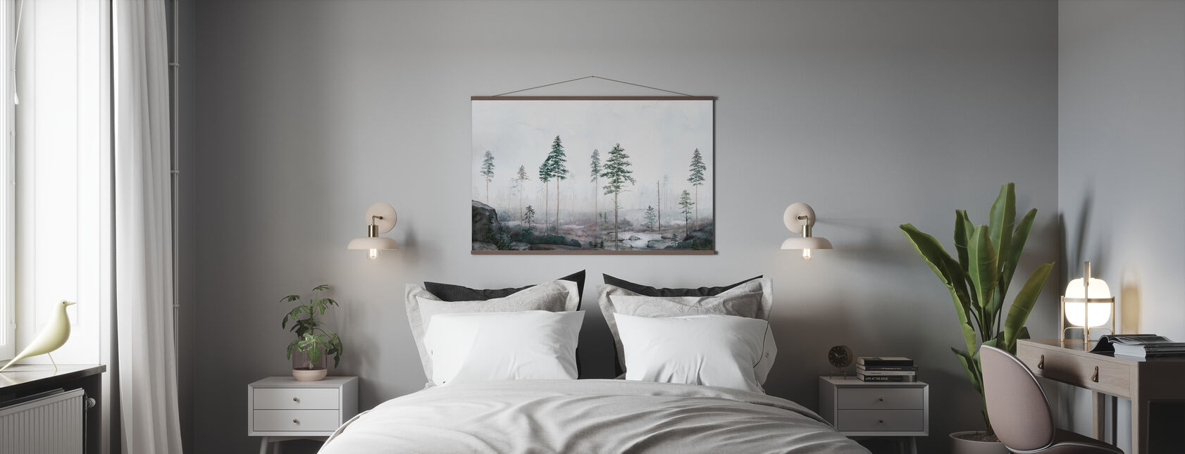Kalhygge II - Poster - Bedroom