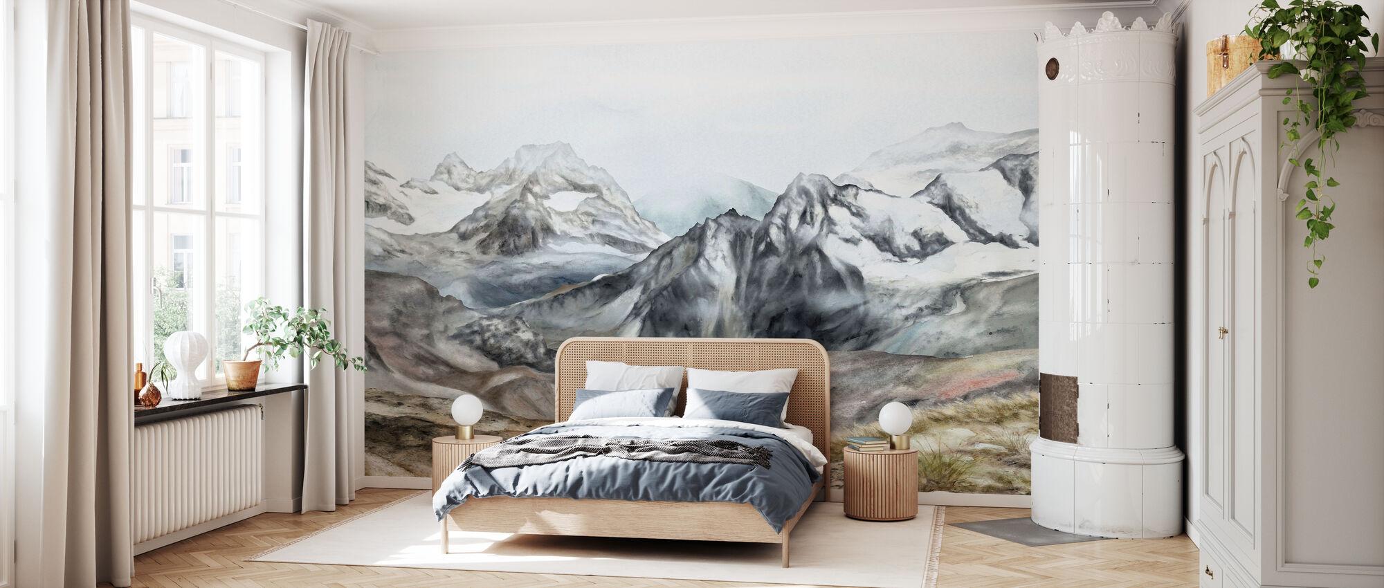 Mountain II - Wallpaper - Bedroom