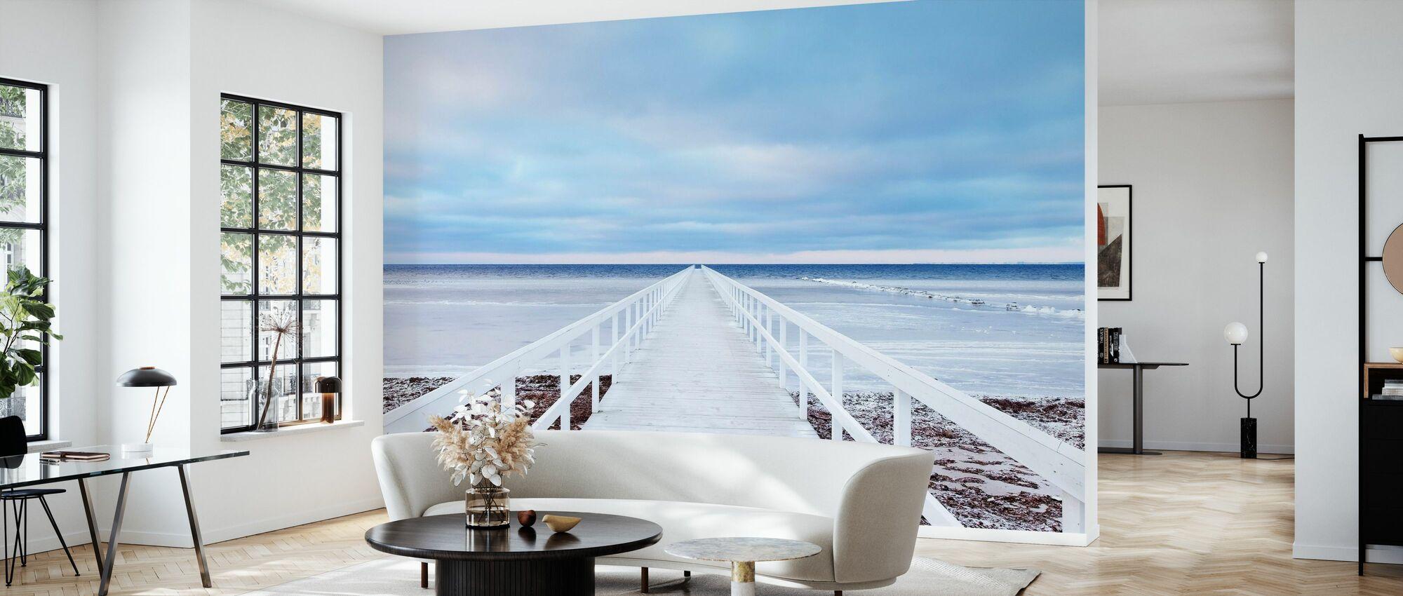 Bridge - Wallpaper - Living Room