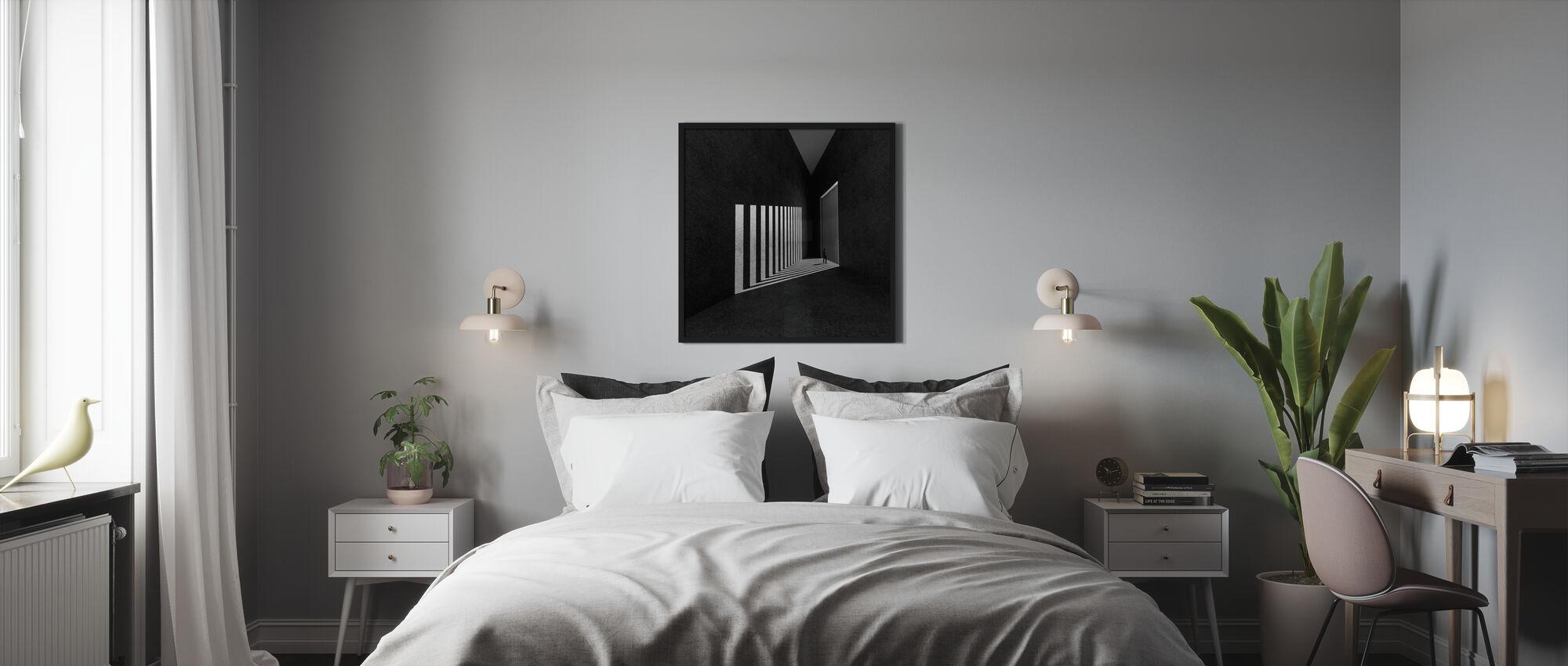Warte auf Freiheit - Poster - Schlafzimmer