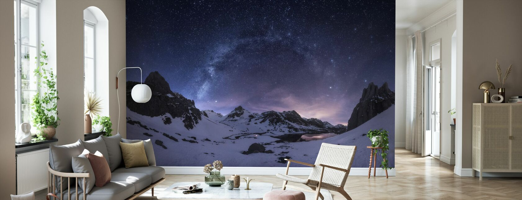 Nightsky Stars - Wallpaper - Living Room