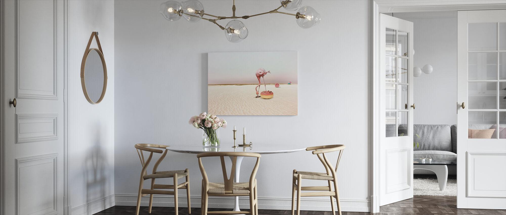 Donut Strand - Canvastavla - Kök