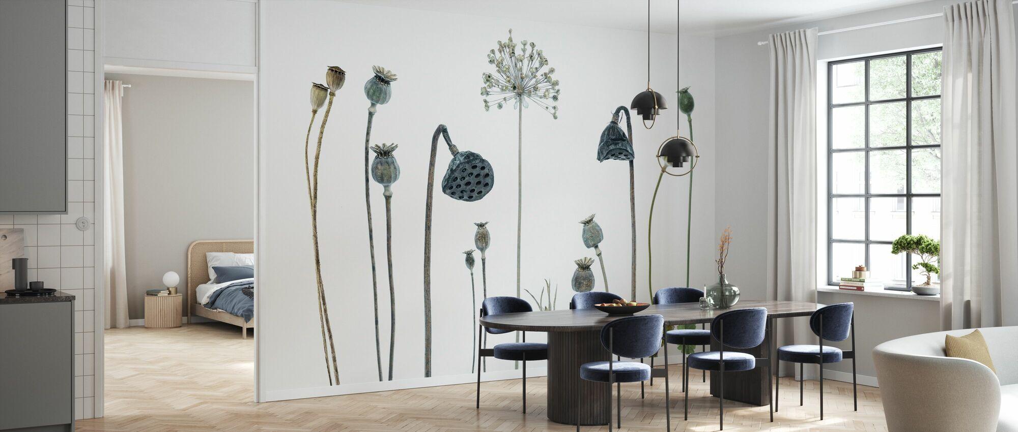 Seed Heads - Wallpaper - Kitchen