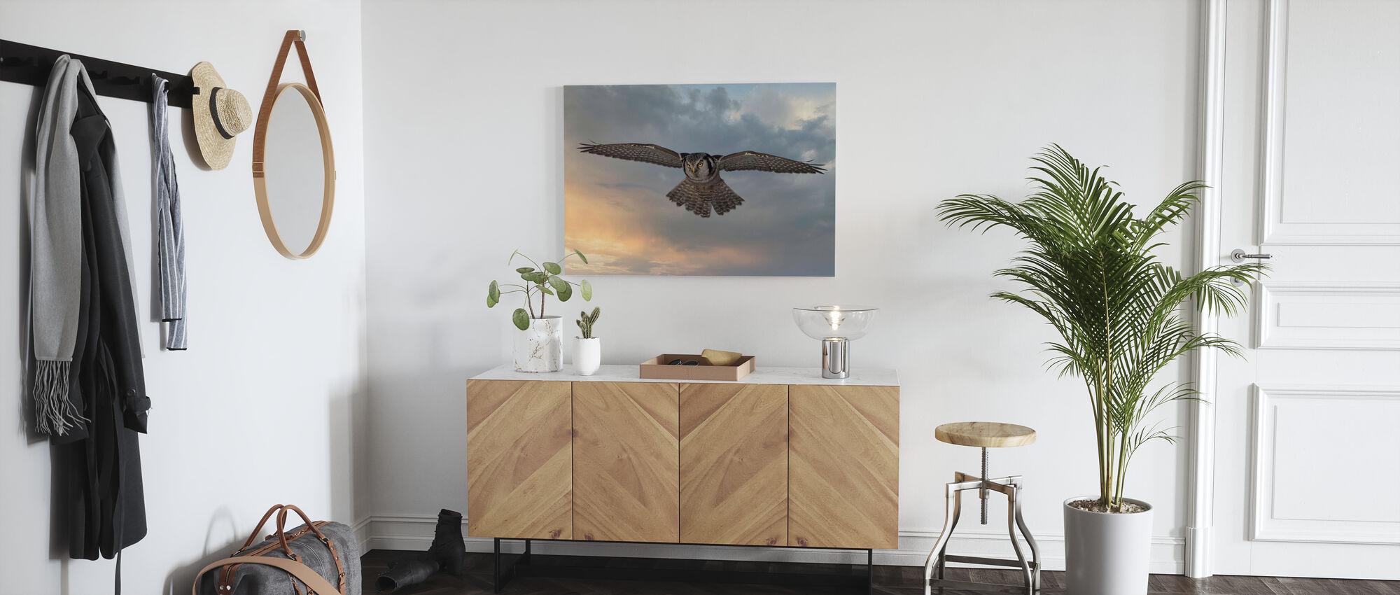 Sky Patrol - Canvas print - Hallway