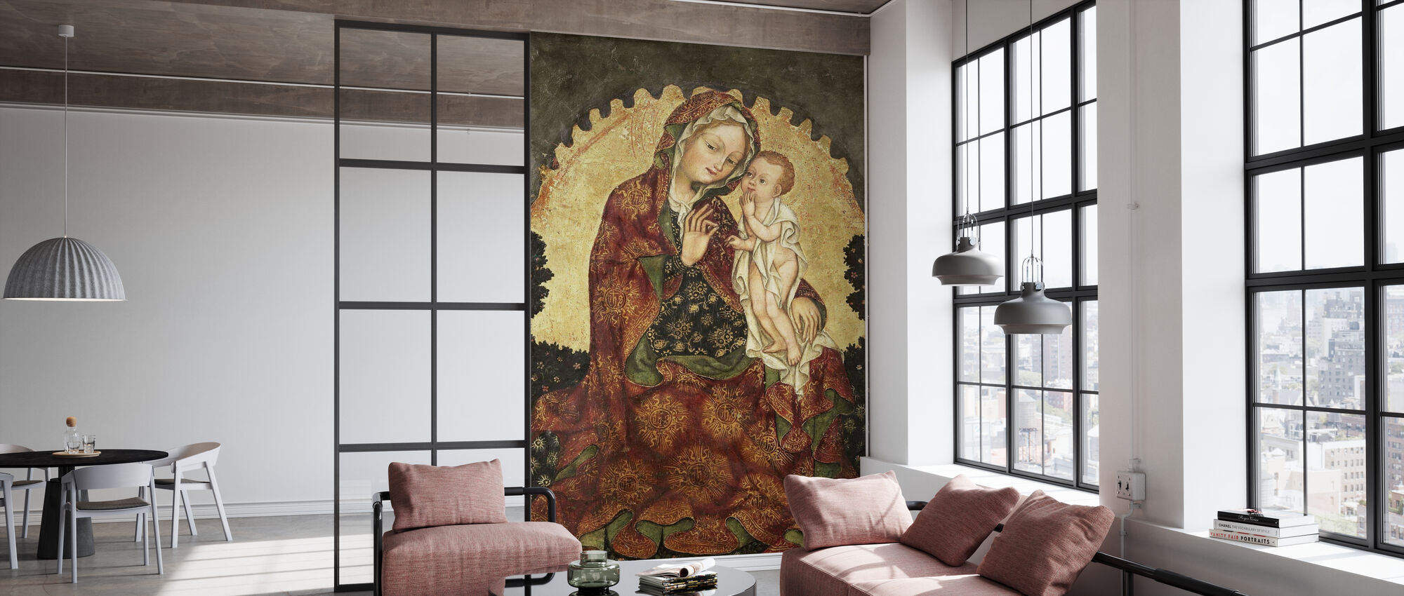 Madonna of Humility - Wallpaper - Office