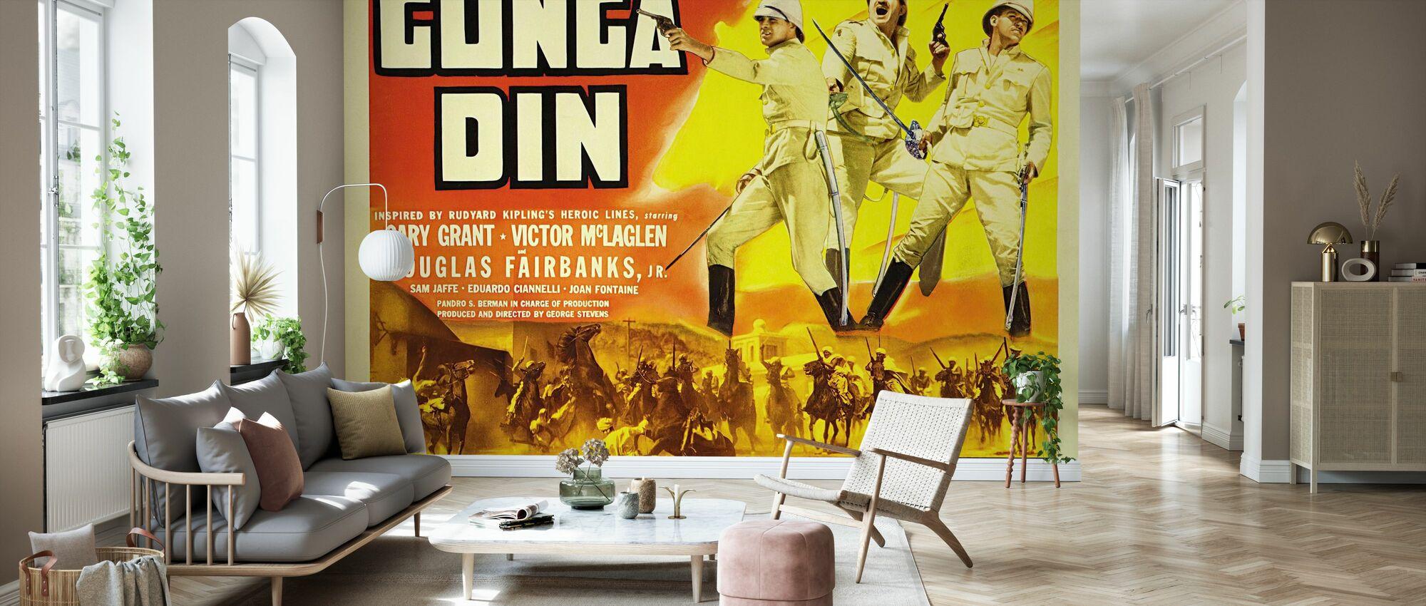 Gunga Din - Wallpaper - Living Room