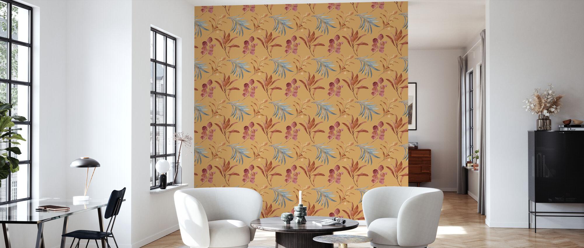 Terra - Golden Cliff - Wallpaper - Living Room