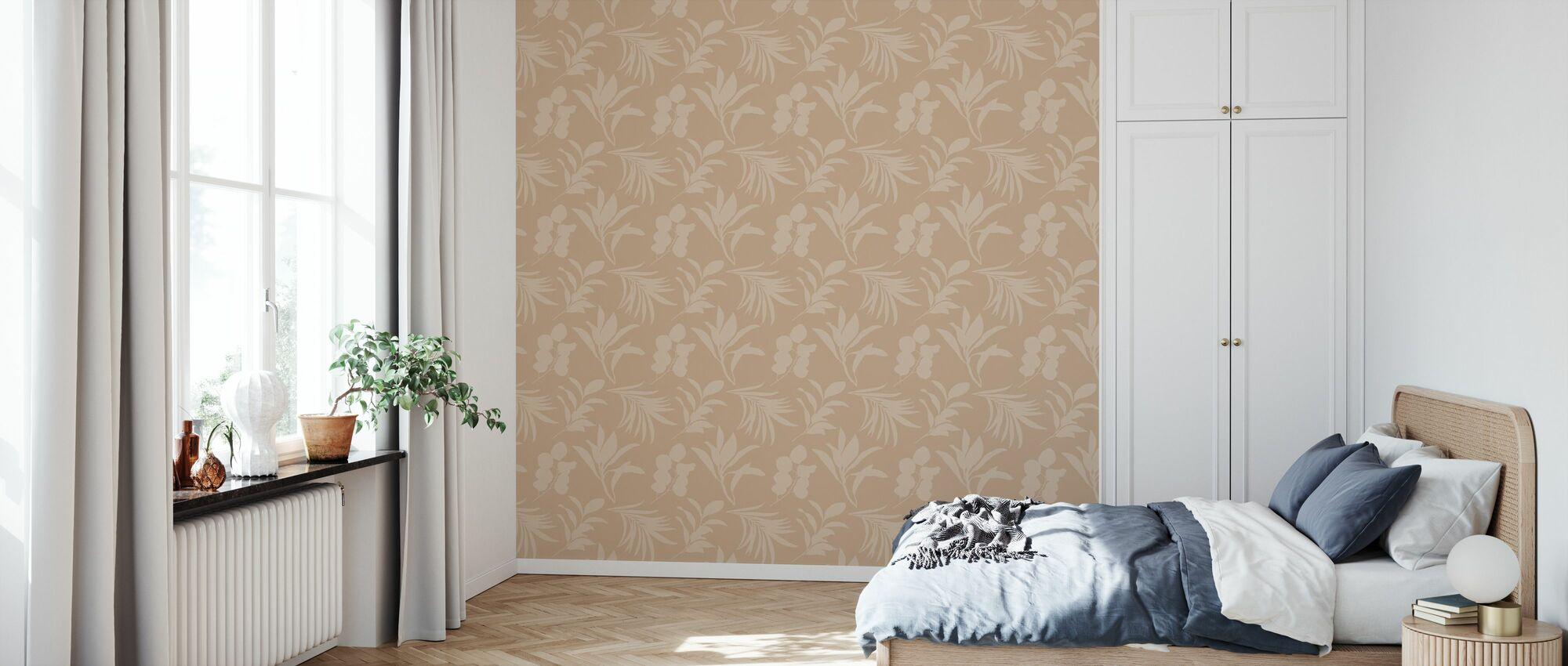 Terra - Sedona Sand - Wallpaper - Bedroom