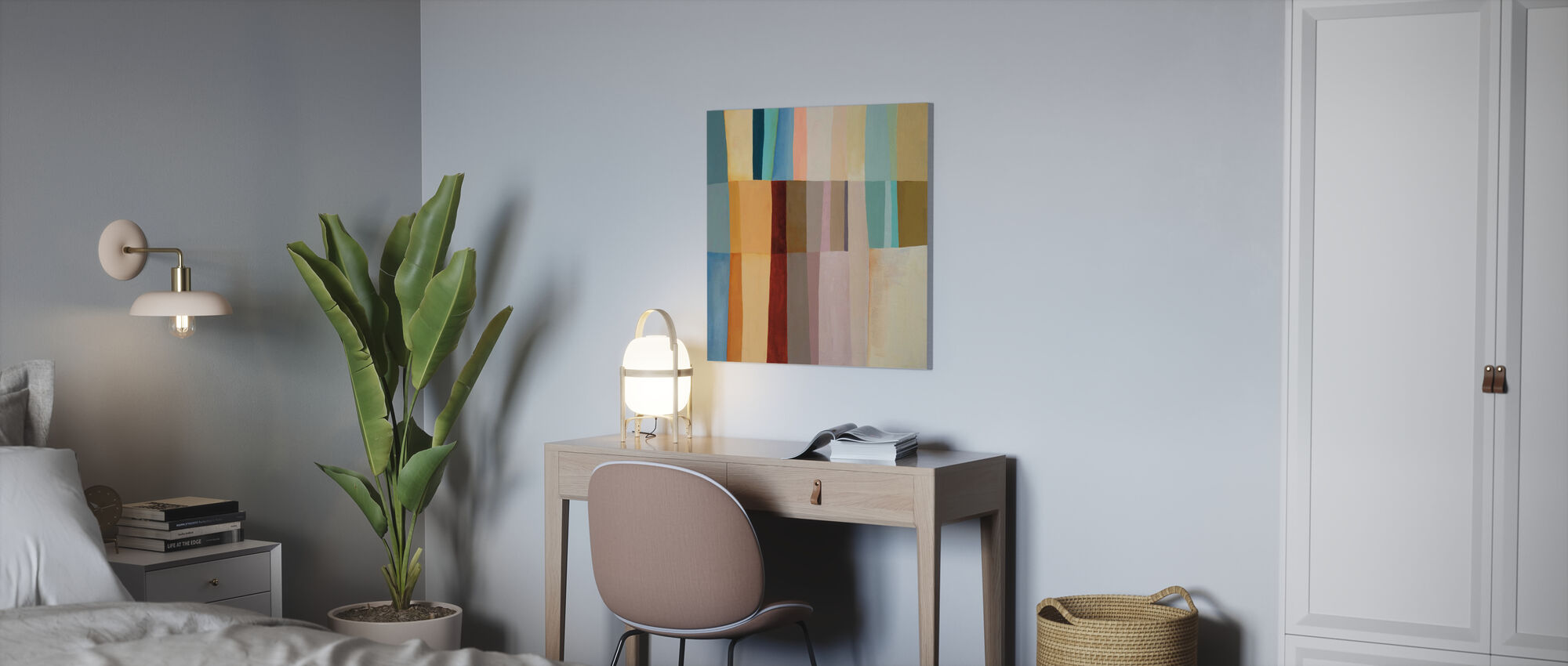 Stitched Together - Canvas print - Office