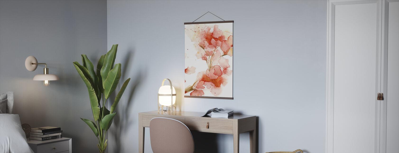 blüten - Poster - Büro