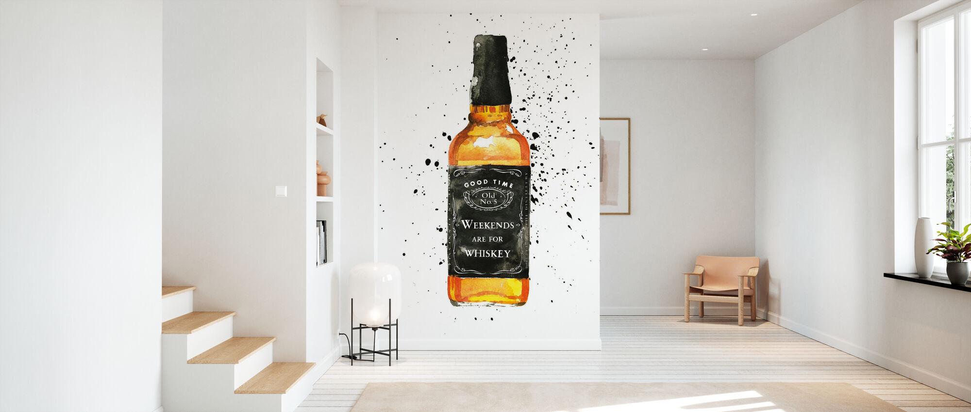Helgene er for Whisky - Tapet - Gang