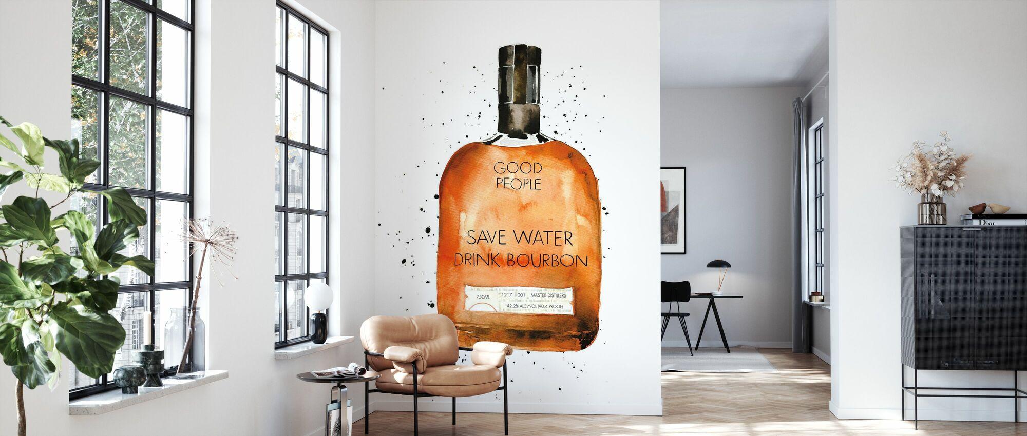 Spar vann drikke Bourbon - Tapet - Stue