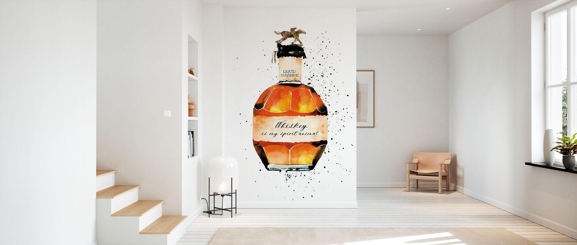 Whisky er min ånd dyr - Tapet - Gang