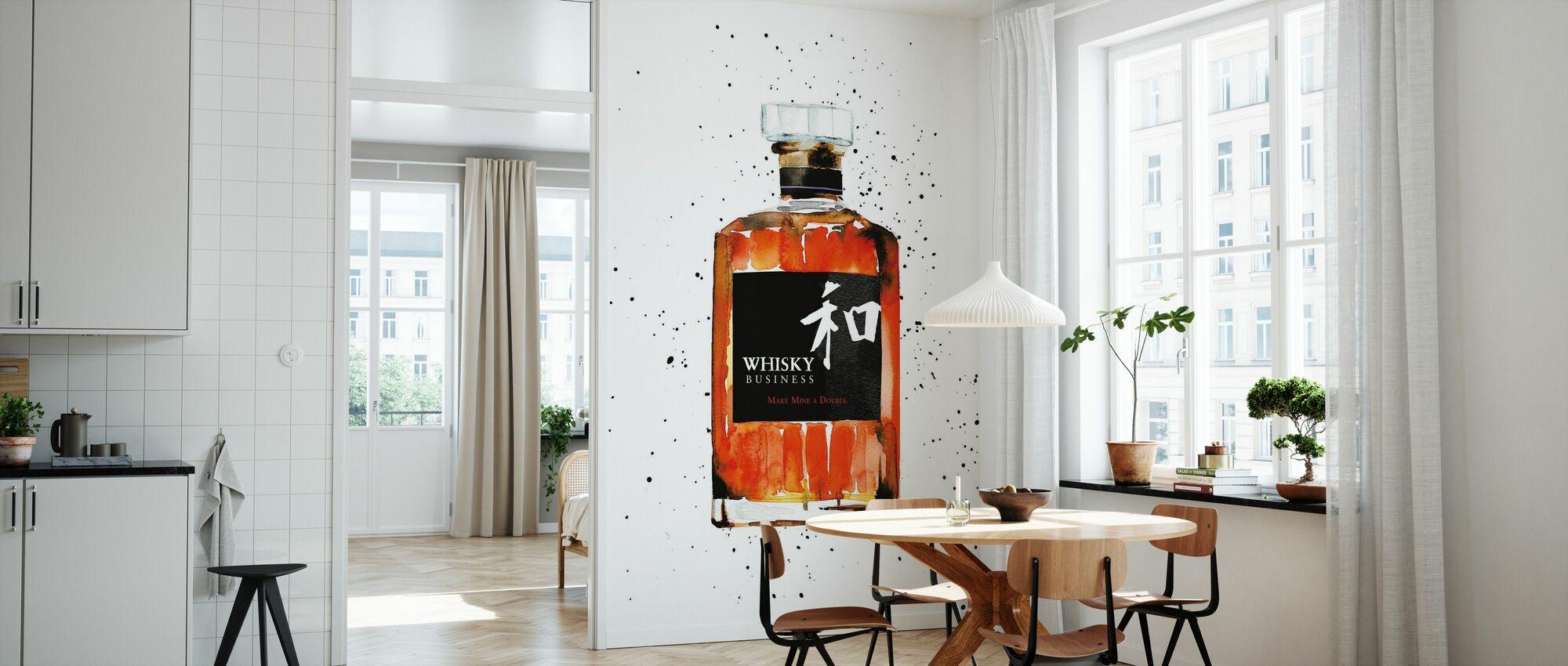 Whisky Business - Tapet - Kjøkken