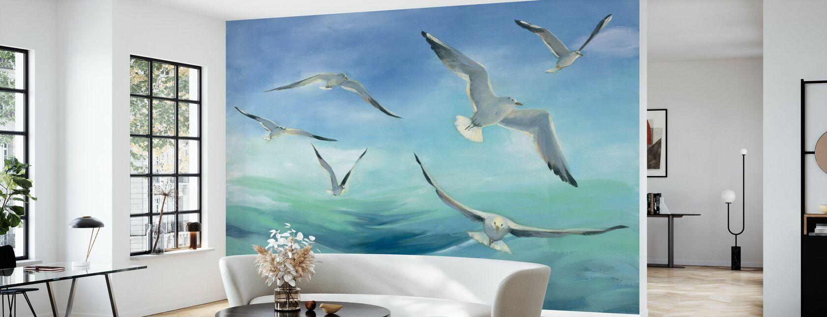 Sea Flight - Tapet - Vardagsrum
