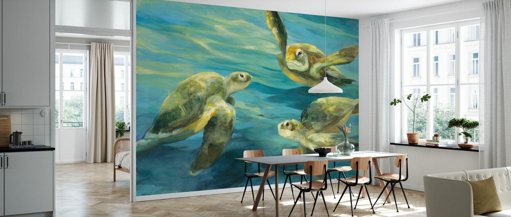 Sea Turtles - Wallpaper - Kitchen