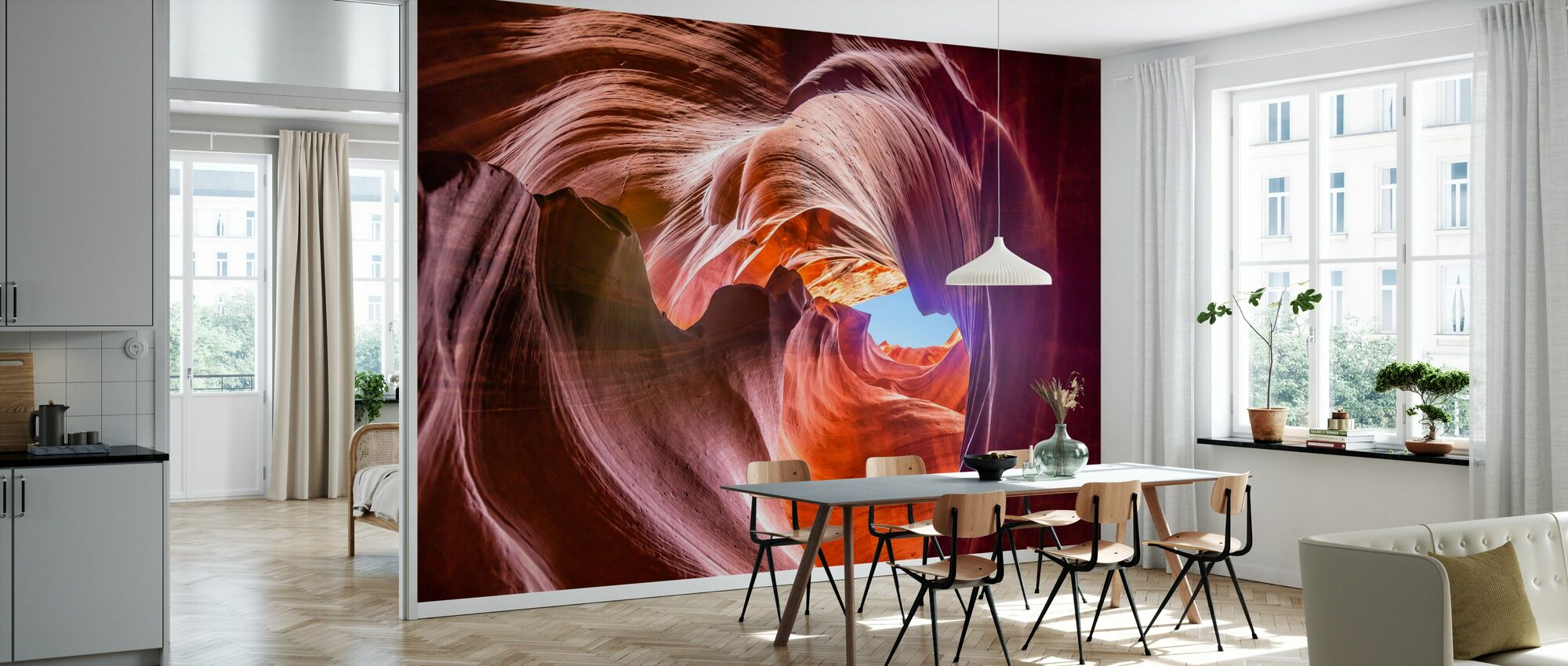 Upper Antelope Canyon - Wallpaper - Kitchen