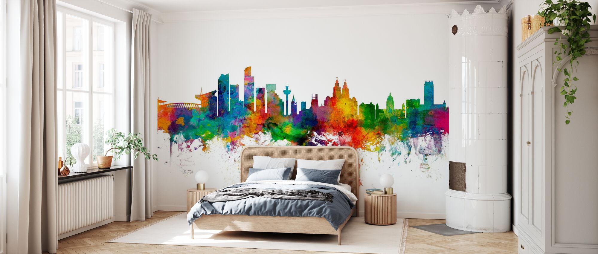 Liverpool Anfield - Rainbow - Wallpaper - Bedroom