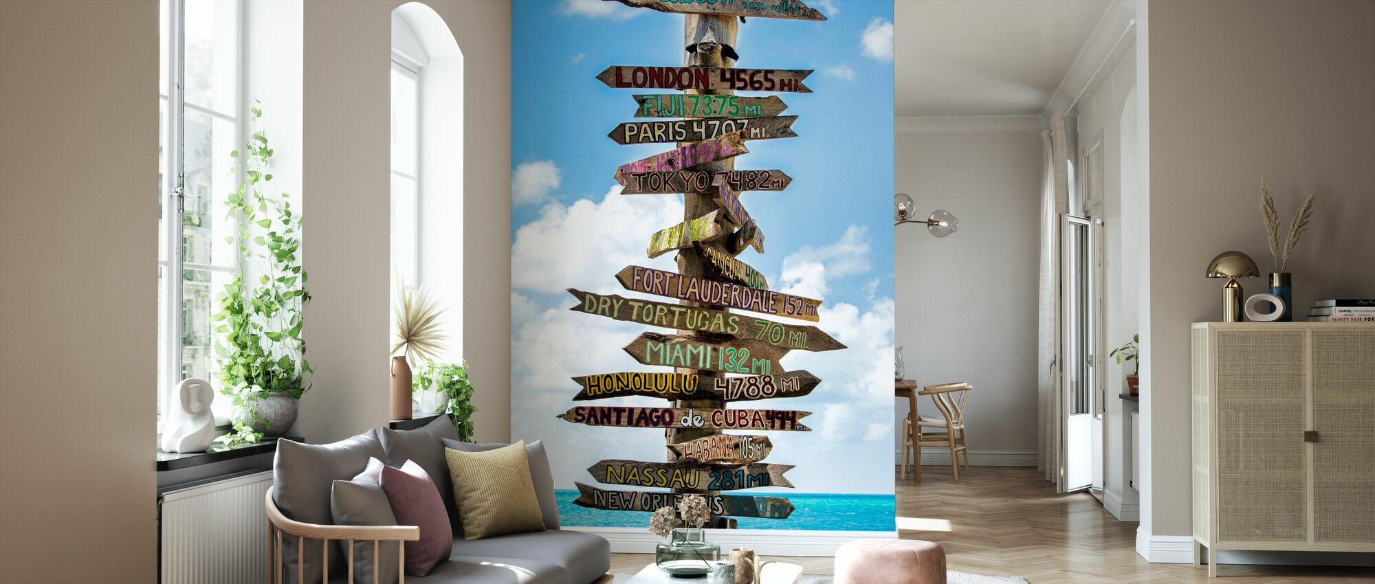 Where to Go - Wallpaper - Living Room