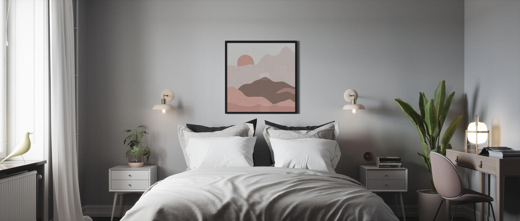 Montagnes II - Affiche - Chambre