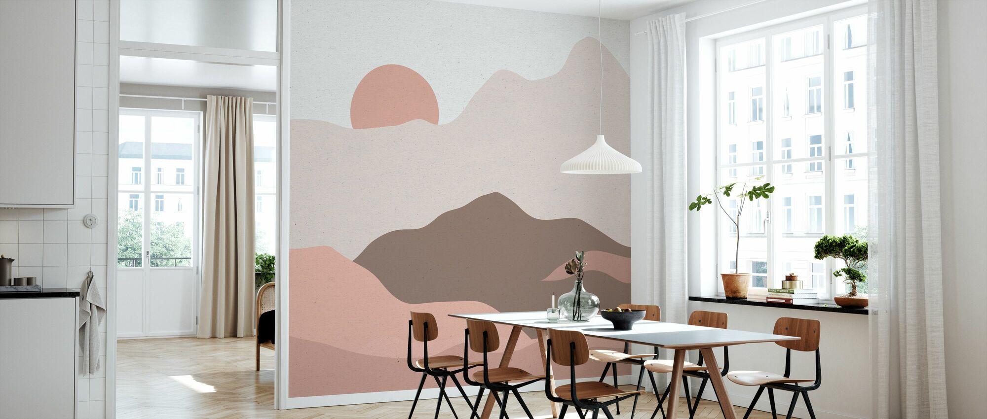 Mountainous II - Wallpaper - Kitchen