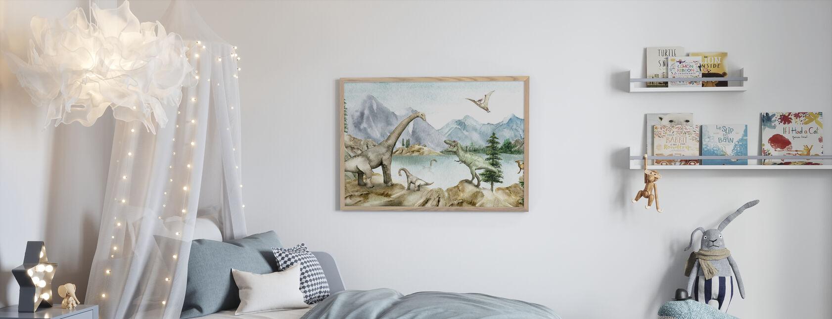 Dino Sueños - Póster - Cuarto de niños