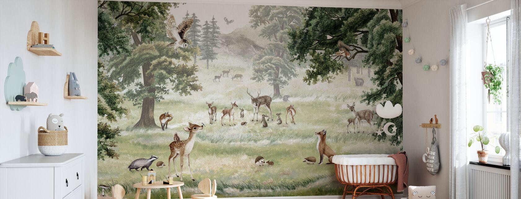 Forrest Spaß - Tapete - Babyzimmer