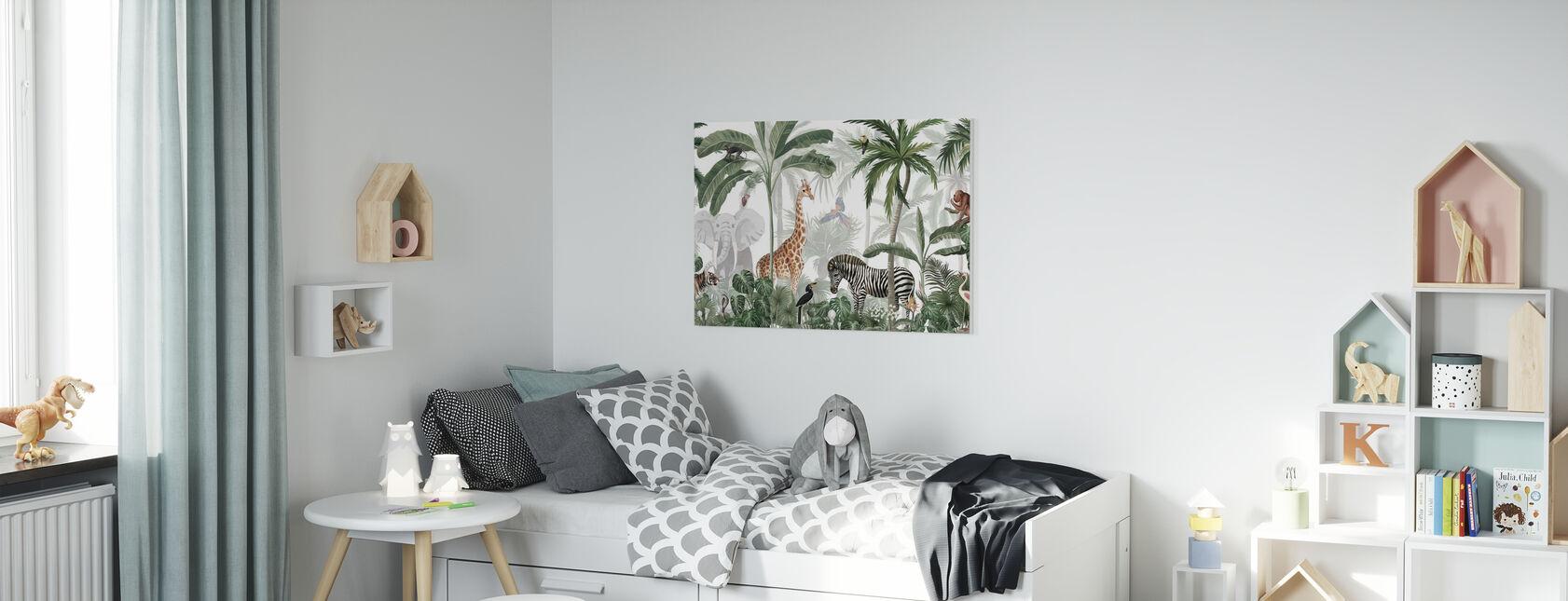 Jungle Jive - Canvas print - Kinderkamer