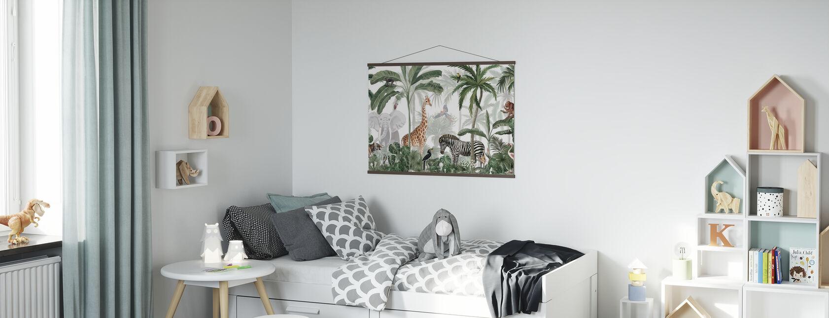 Jungle Jive - Poster - Kinderkamer