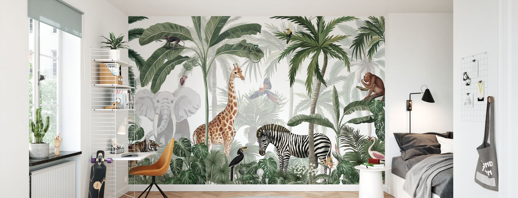 Jungle Jive - Wallpaper - Kids Room