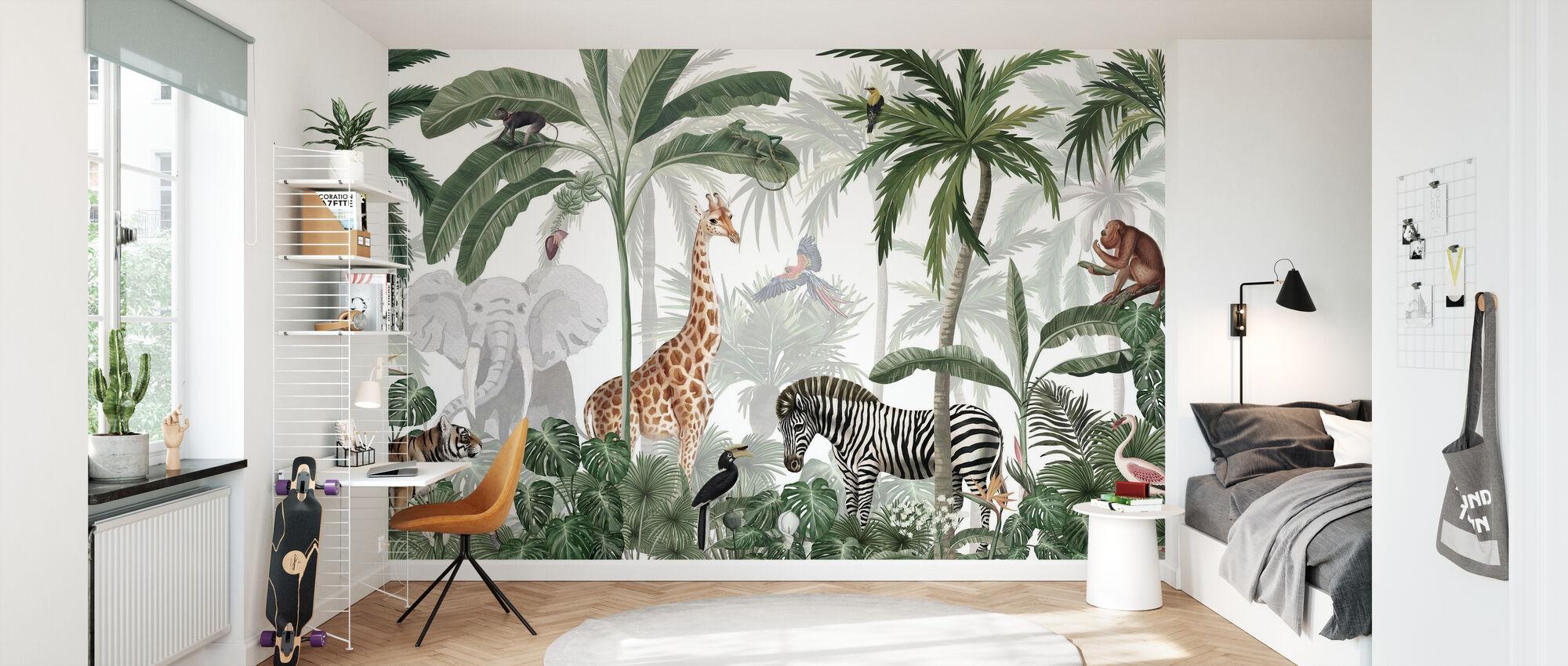 Jungle Jive - Wallpaper - Kids Room