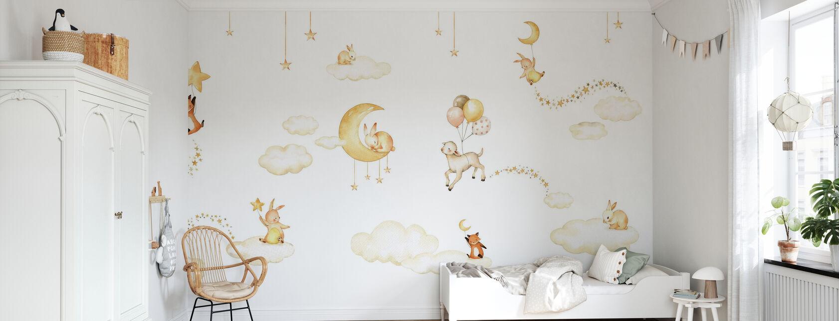 Dulces Sueños - Blanco - Papel pintado - Cuarto de niños