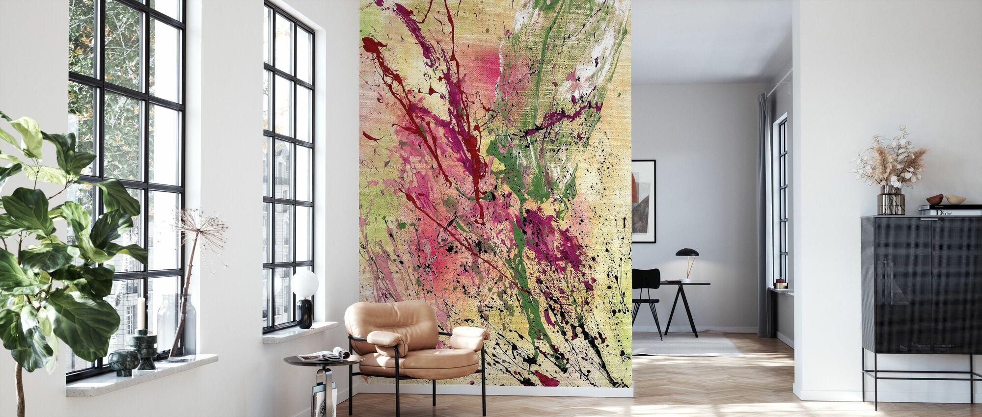 Champagne - Wallpaper - Living Room