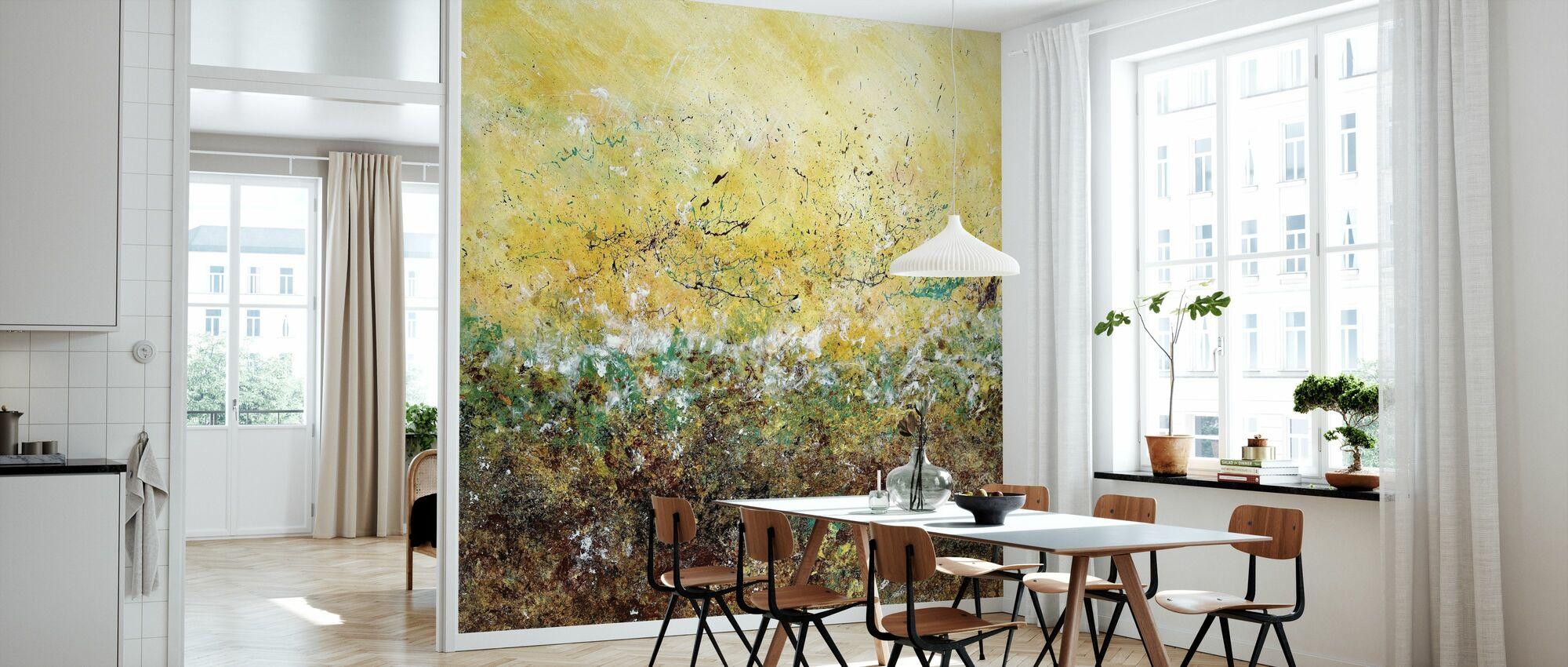 First Bloom - Wallpaper - Kitchen